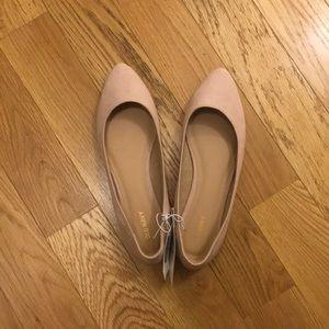 NWT Blush Ballet Flats